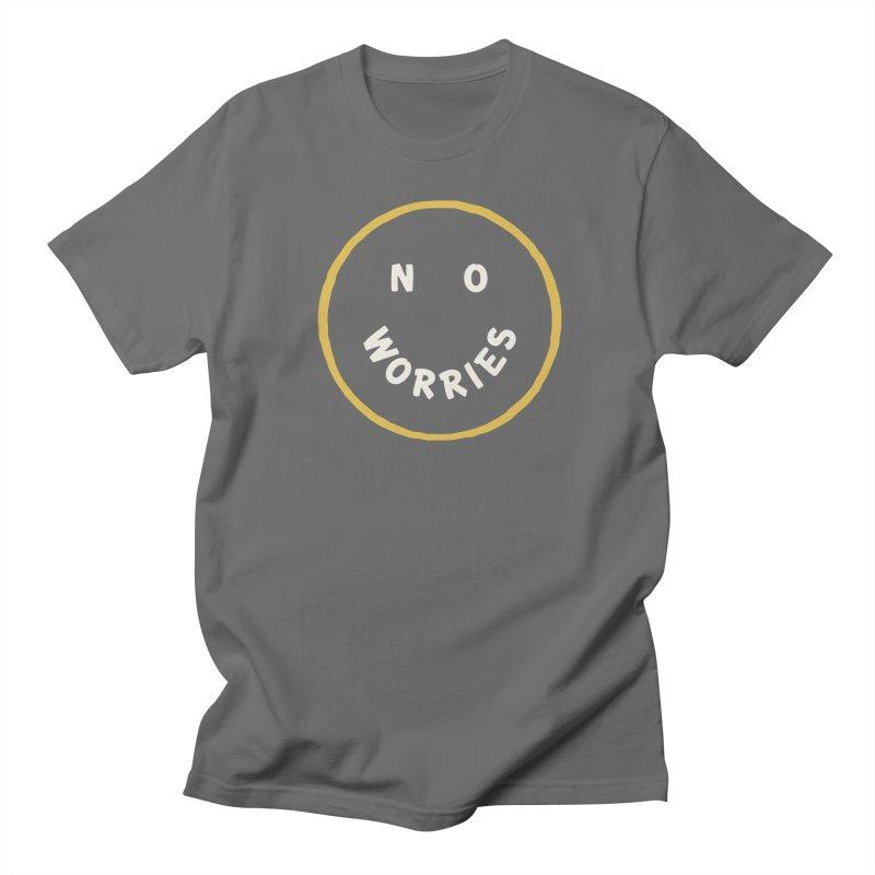 No Worries Men's Regular T-Shirt by Cody Weiler
