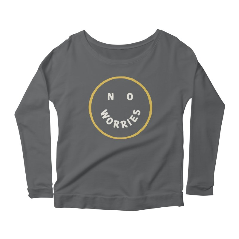 No Worries Women's Longsleeve T-Shirt by Cody Weiler