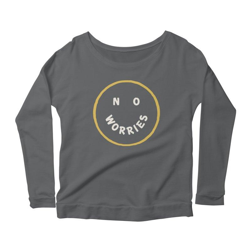 No Worries Women's Longsleeve T-Shirt by Cody Weiler