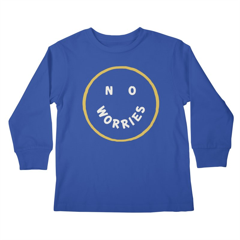 No Worries Kids Longsleeve T-Shirt by Cody Weiler