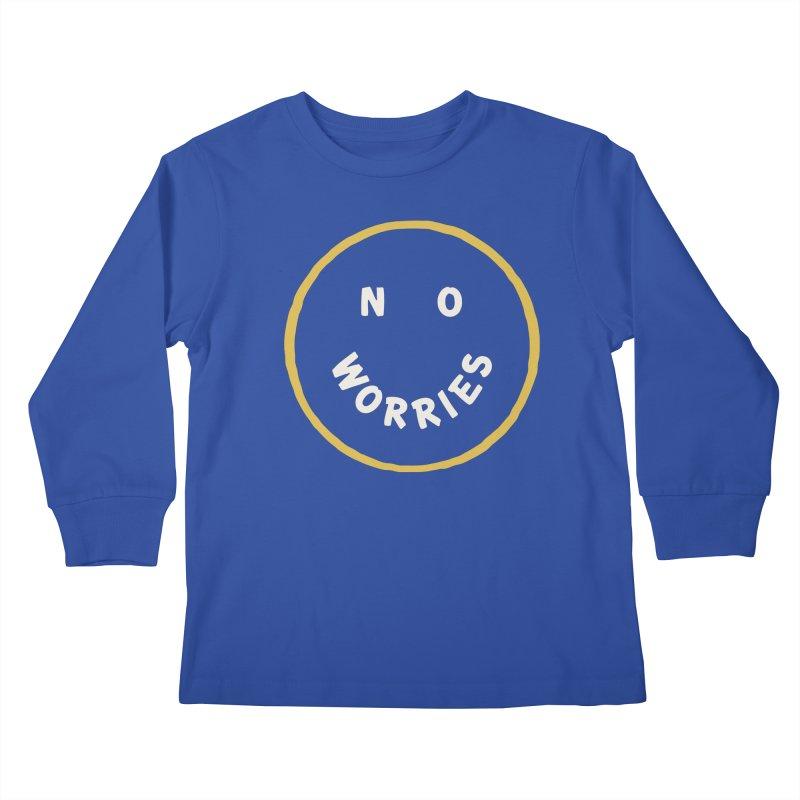No Worries Kids Longsleeve T-Shirt by Cody Weiler