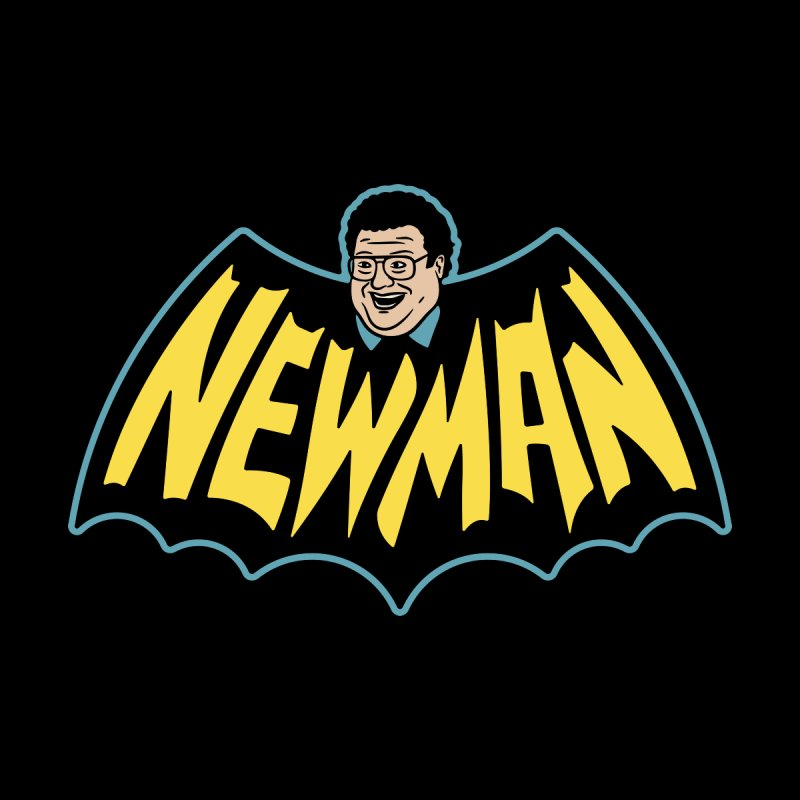 Nananananananana Newman Home Stretched Canvas by Cody Weiler
