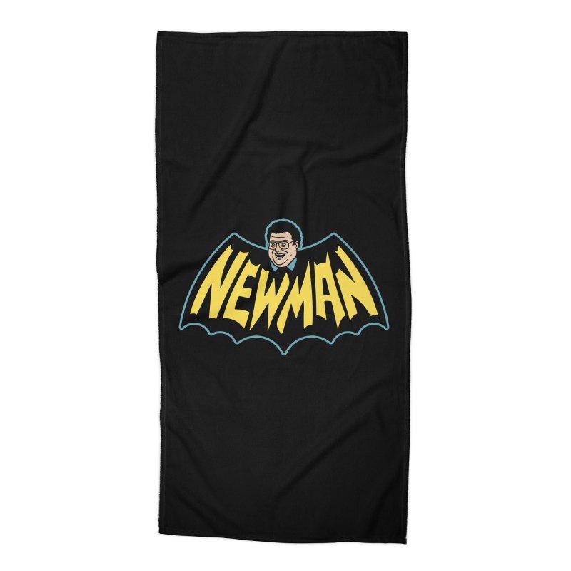 Nananananananana Newman Accessories Beach Towel by Cody Weiler