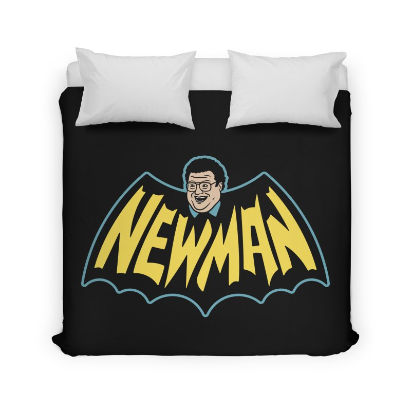 Nananananananana Newman Home Duvet by Cody Weiler
