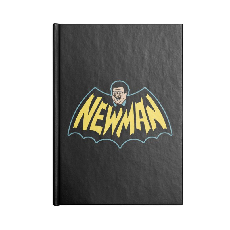 Nananananananana Newman Accessories Lined Journal Notebook by Cody Weiler