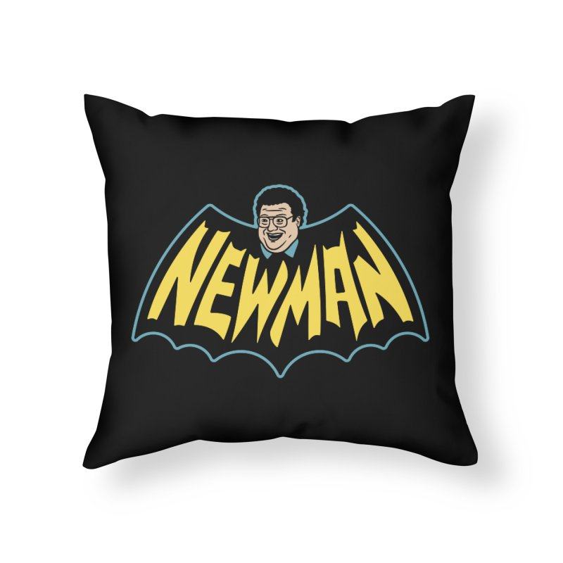 Nananananananana Newman Home Throw Pillow by Cody Weiler