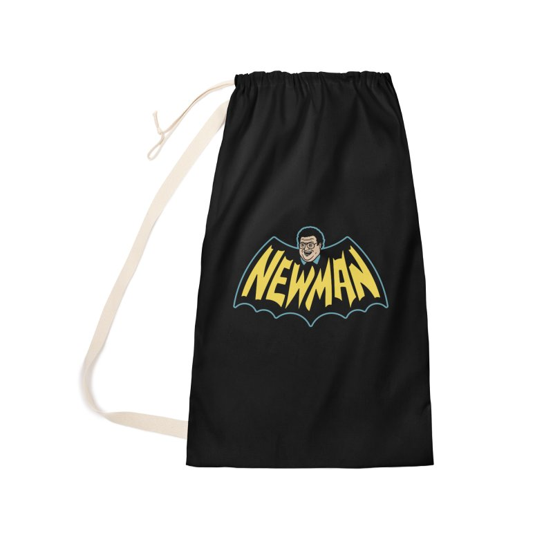 Nananananananana Newman Accessories Laundry Bag Bag by Cody Weiler