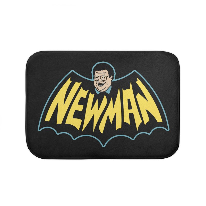 Nananananananana Newman Home Bath Mat by Cody Weiler