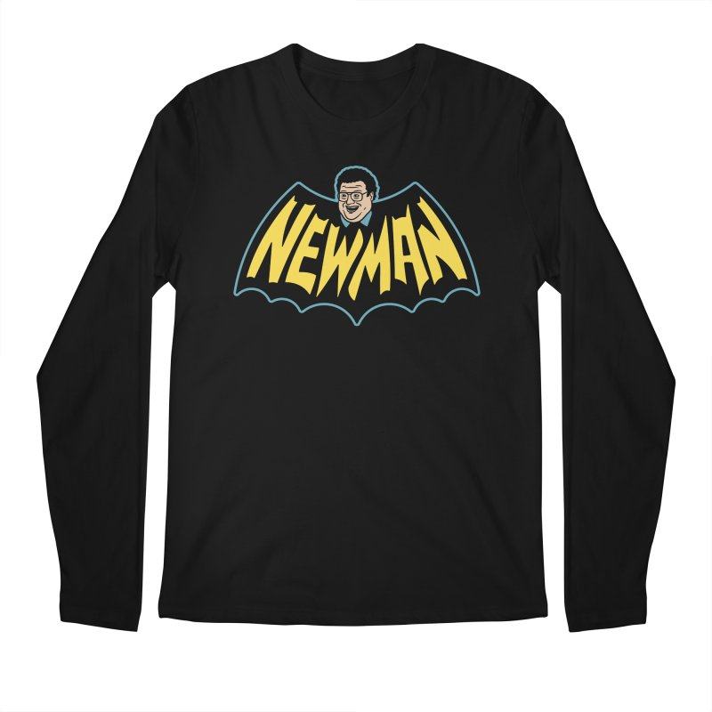 Nananananananana Newman Men's Regular Longsleeve T-Shirt by Cody Weiler
