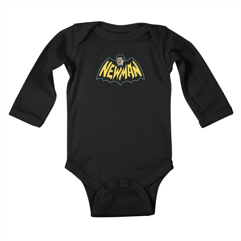 Nananananananana Newman Kids Baby Longsleeve Bodysuit by Cody Weiler