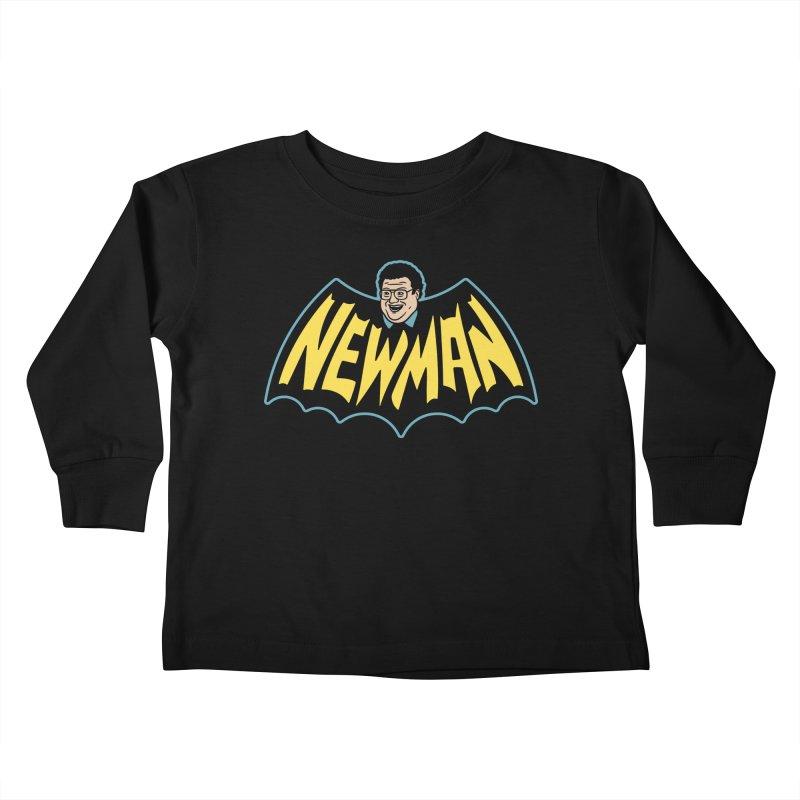 Nananananananana Newman Kids Toddler Longsleeve T-Shirt by Cody Weiler