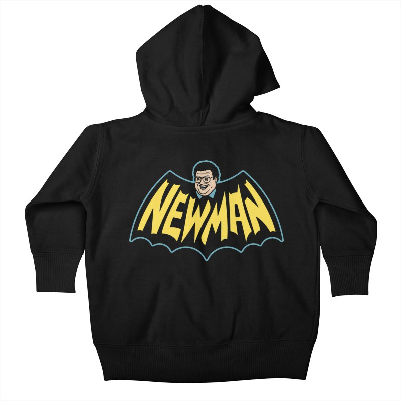 Nananananananana Newman Kids Baby Zip-Up Hoody by Cody Weiler