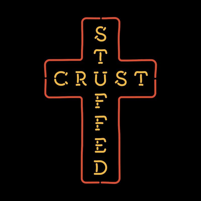 Cheesus Crust Kids T-Shirt by Cody Weiler