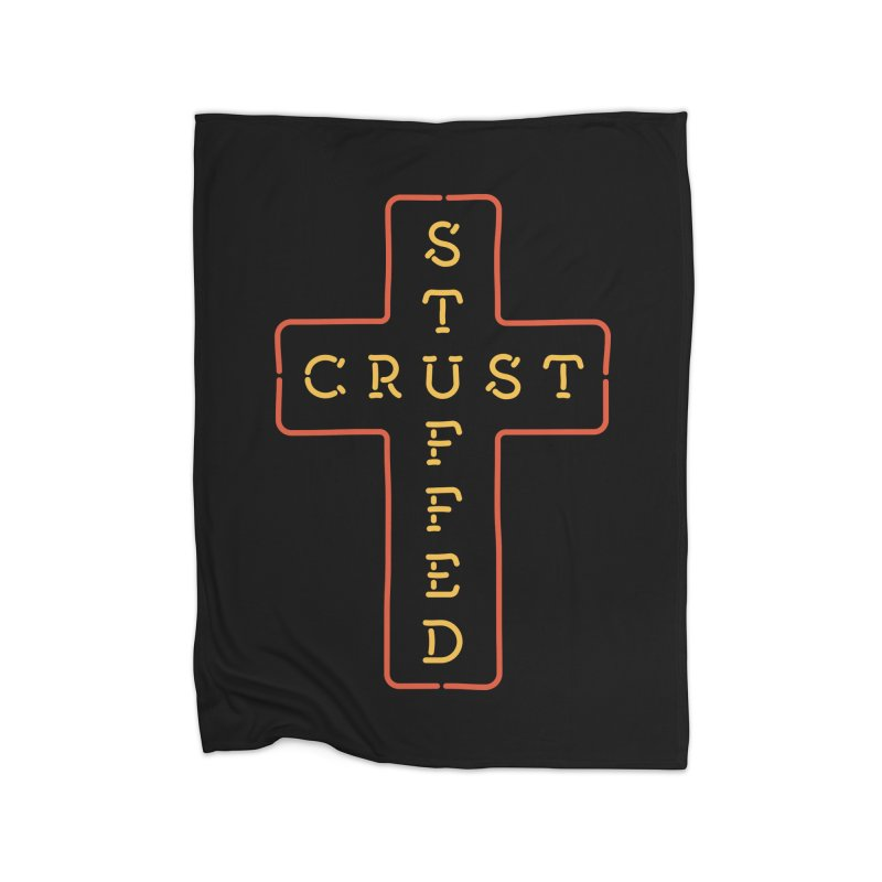 Cheesus Crust Home Blanket by Cody Weiler