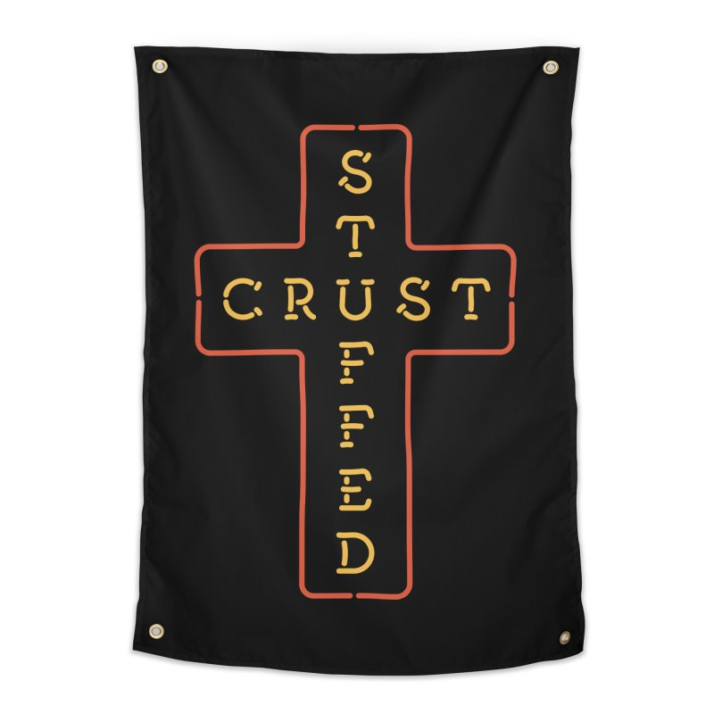 Cheesus Crust Home Tapestry by Cody Weiler
