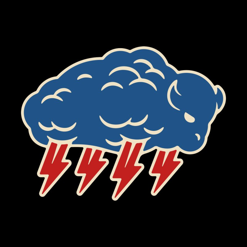 Buffalo Thunder Kids Baby T-Shirt by Cody Weiler
