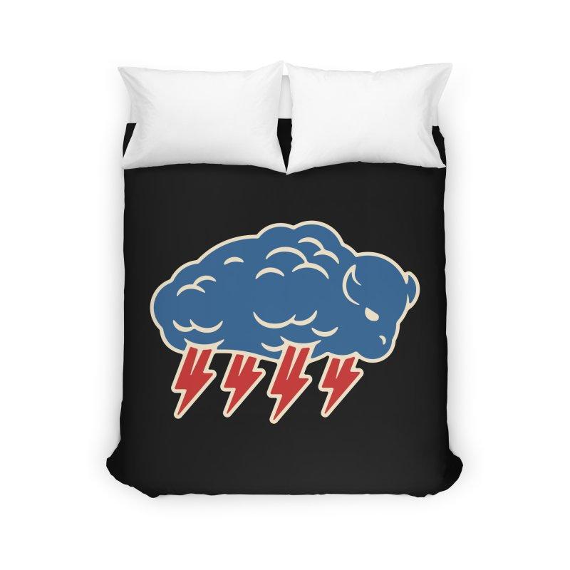 Buffalo Thunder Home Duvet by Cody Weiler