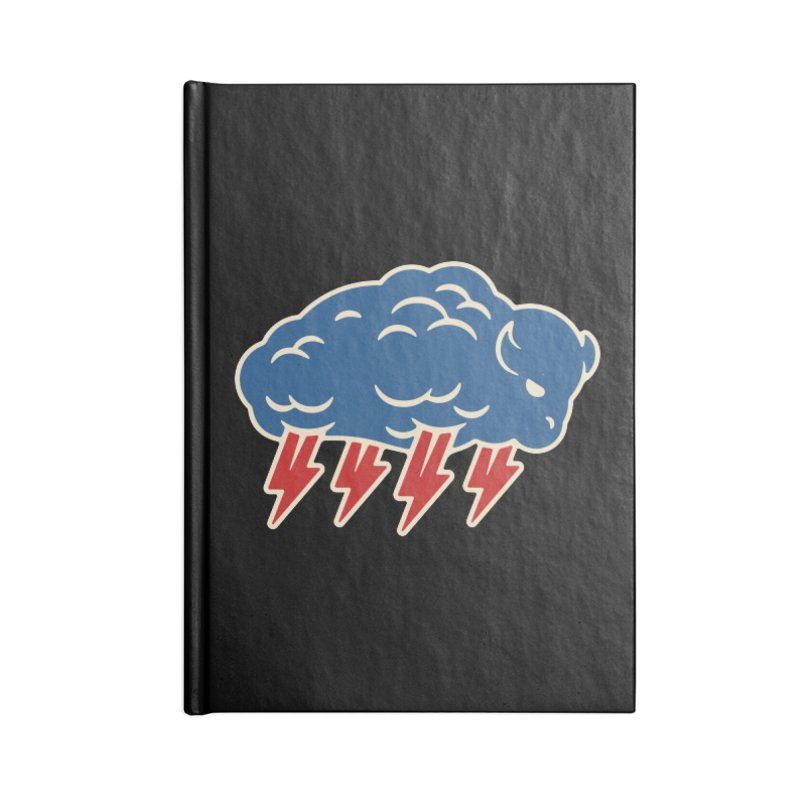 Buffalo Thunder Accessories Blank Journal Notebook by Cody Weiler