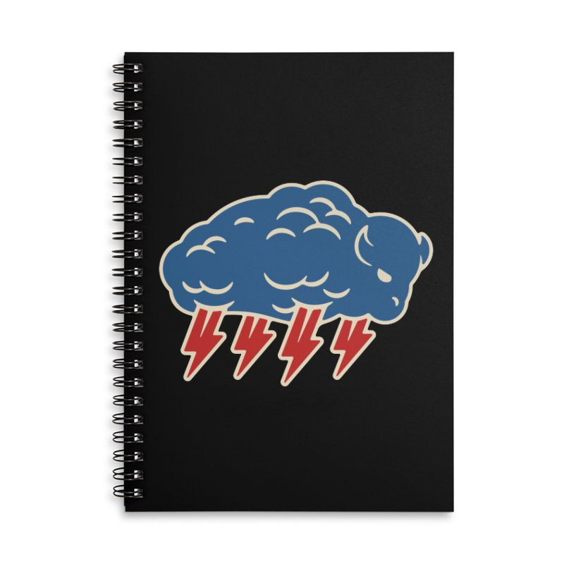 Buffalo Thunder Accessories Lined Spiral Notebook by Cody Weiler