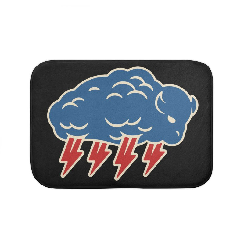 Buffalo Thunder Home Bath Mat by Cody Weiler