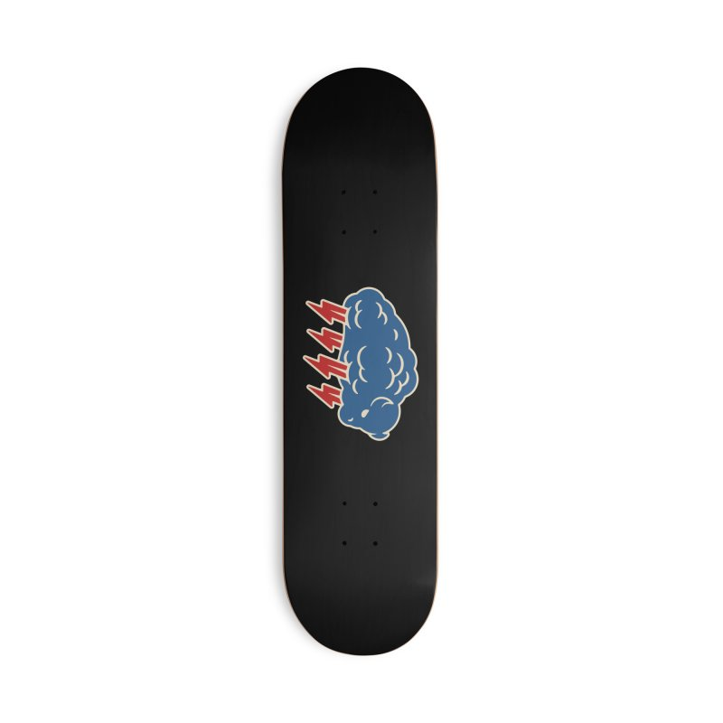Buffalo Thunder Accessories Deck Only Skateboard by Cody Weiler