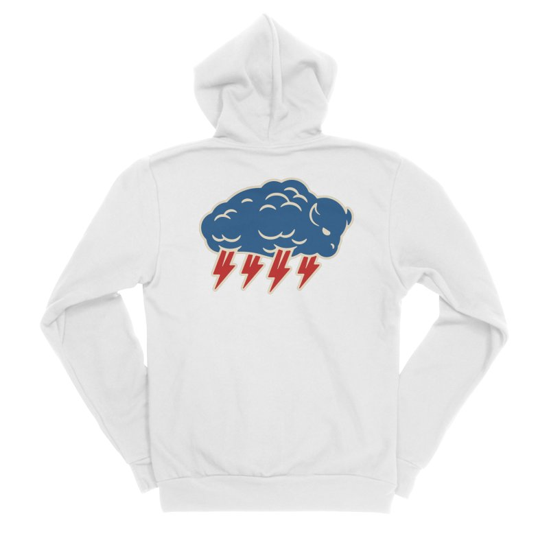 Buffalo Thunder Men's Zip-Up Hoody by Cody Weiler