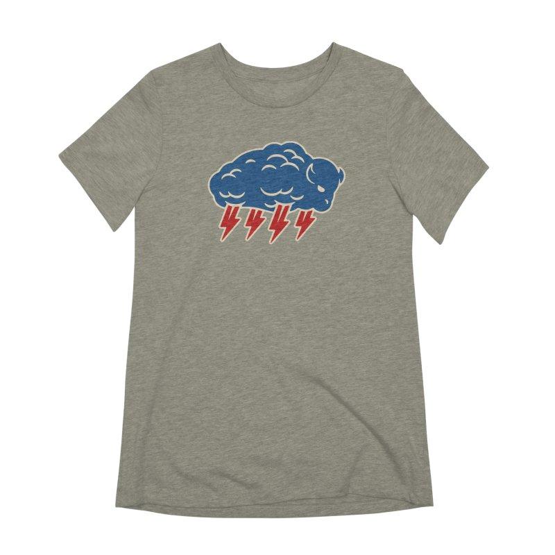 Buffalo Thunder Women's Extra Soft T-Shirt by Cody Weiler
