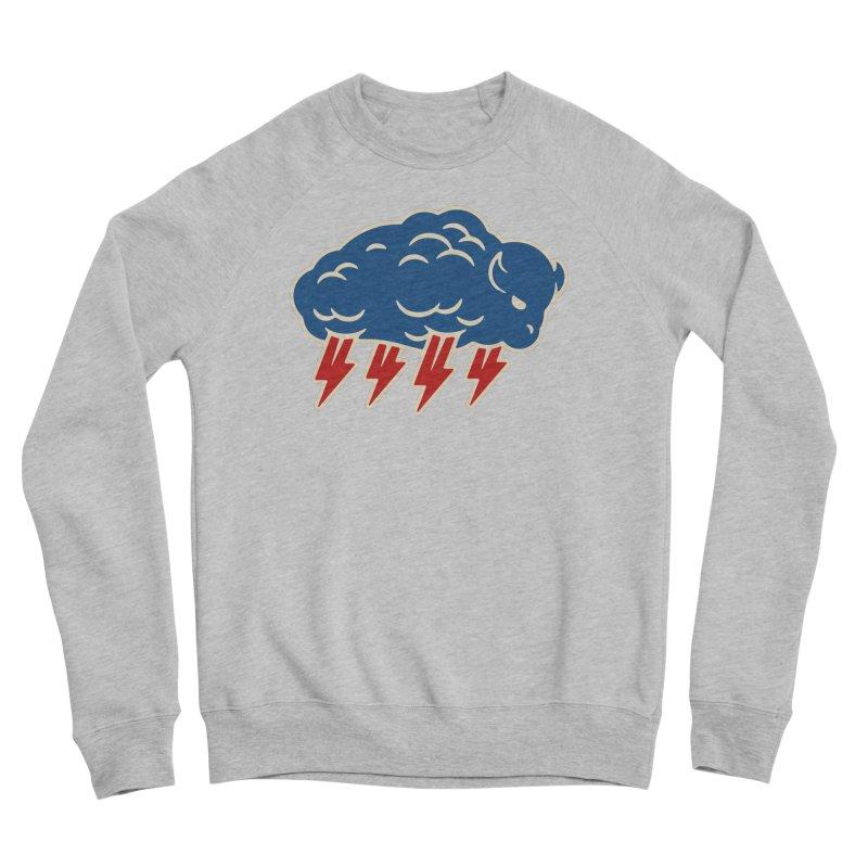 Buffalo Thunder Men's Sponge Fleece Sweatshirt by Cody Weiler