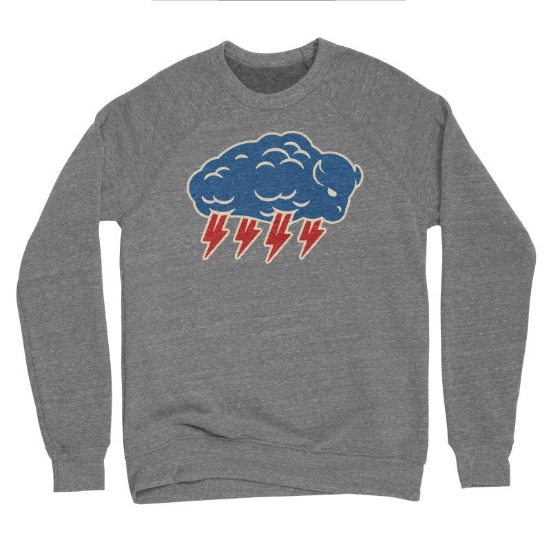 Buffalo Thunder Women's Sponge Fleece Sweatshirt by Cody Weiler