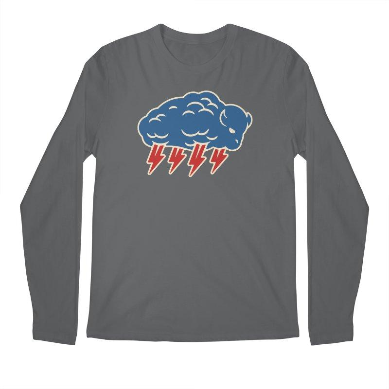 Buffalo Thunder Men's Regular Longsleeve T-Shirt by Cody Weiler