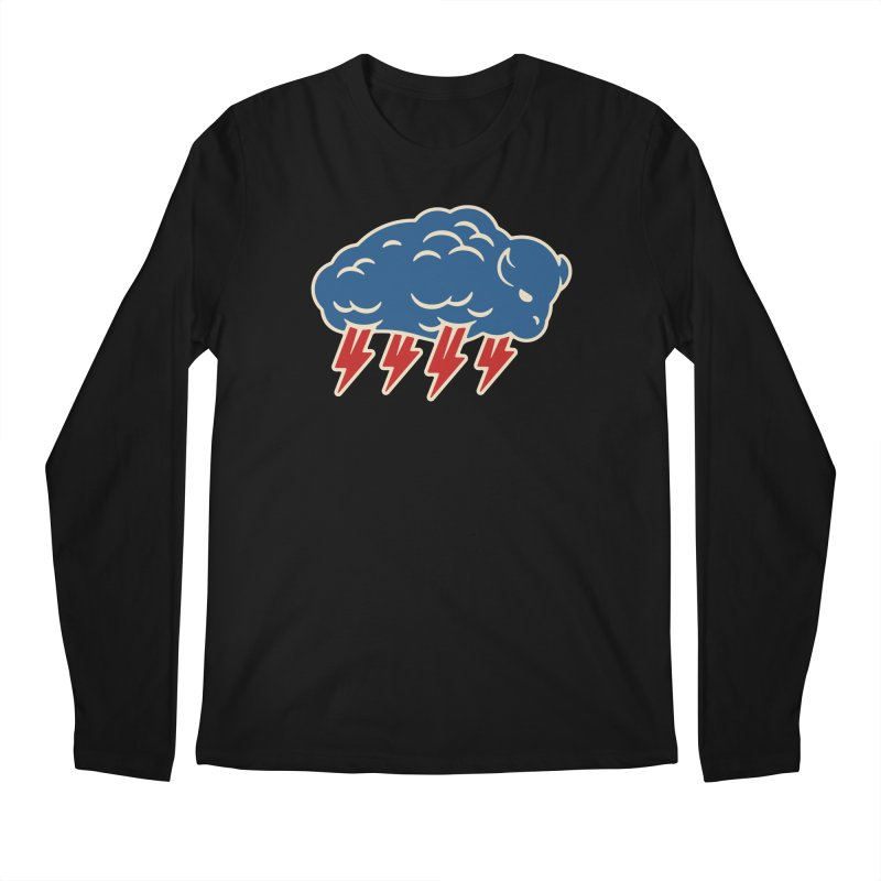 Buffalo Thunder Men's Regular Longsleeve T-Shirt by Cody Weiler