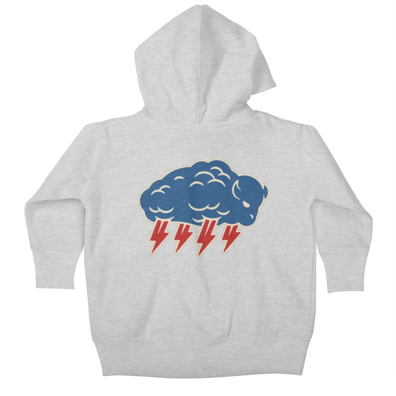 Buffalo Thunder Kids Baby Zip-Up Hoody by Cody Weiler