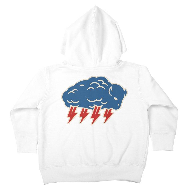 Buffalo Thunder Kids Toddler Zip-Up Hoody by Cody Weiler