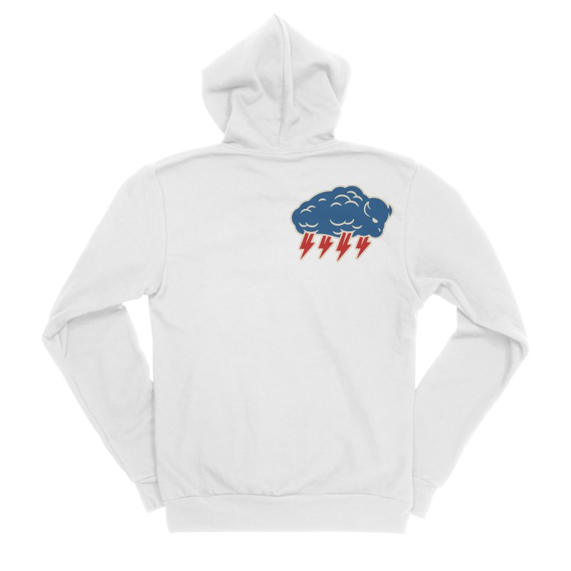 Buffalo Thunder Men's Zip-Up Hoody by Cody Weiler