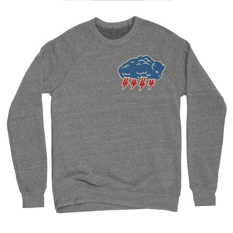 Buffalo Thunder Men's Sponge Fleece Sweatshirt by Cody Weiler
