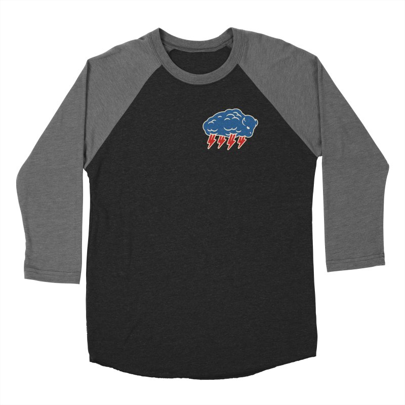 Buffalo Thunder Men's Baseball Triblend Longsleeve T-Shirt by Cody Weiler