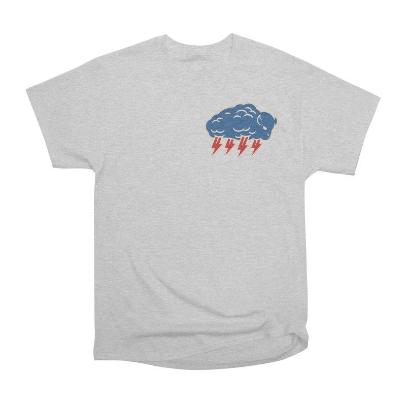 Buffalo Thunder Men's Heavyweight T-Shirt by Cody Weiler