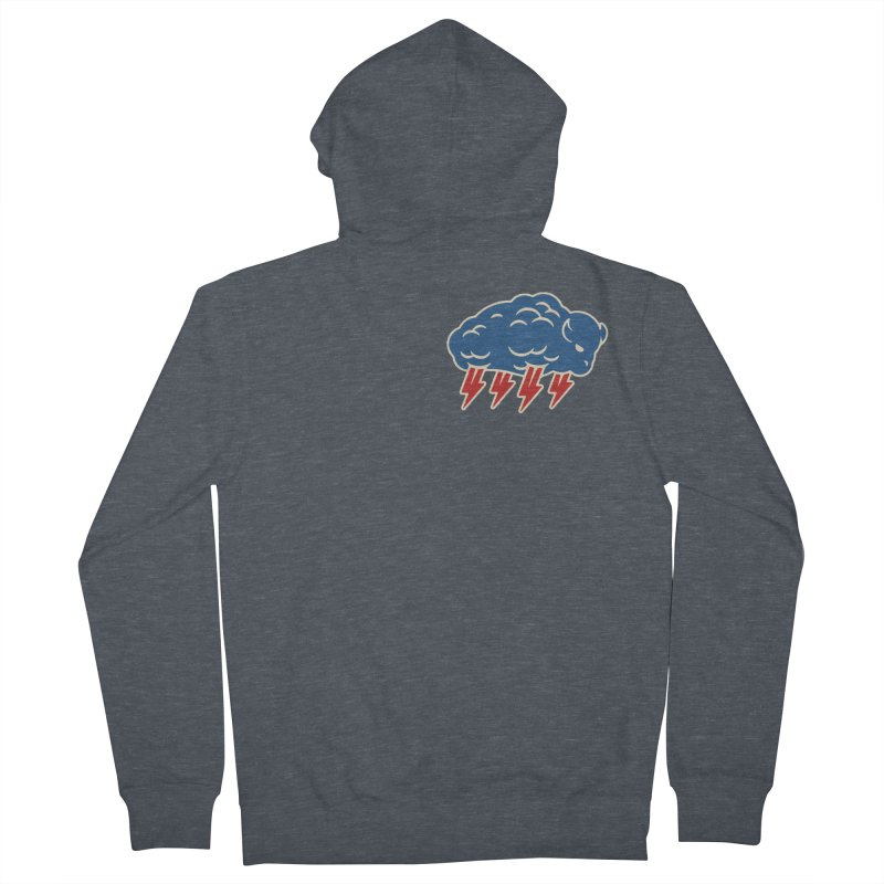 Buffalo Thunder Men's French Terry Zip-Up Hoody by Cody Weiler