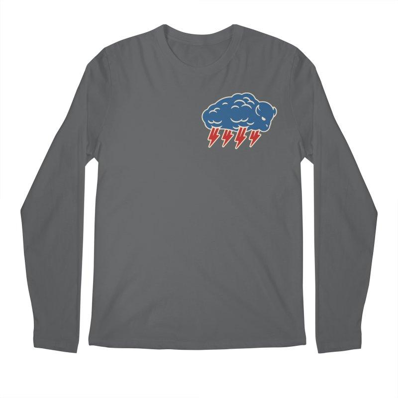 Buffalo Thunder Men's Longsleeve T-Shirt by Cody Weiler