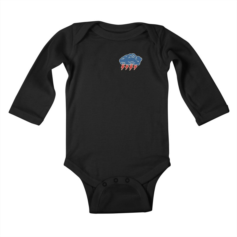 Buffalo Thunder Kids Baby Longsleeve Bodysuit by Cody Weiler