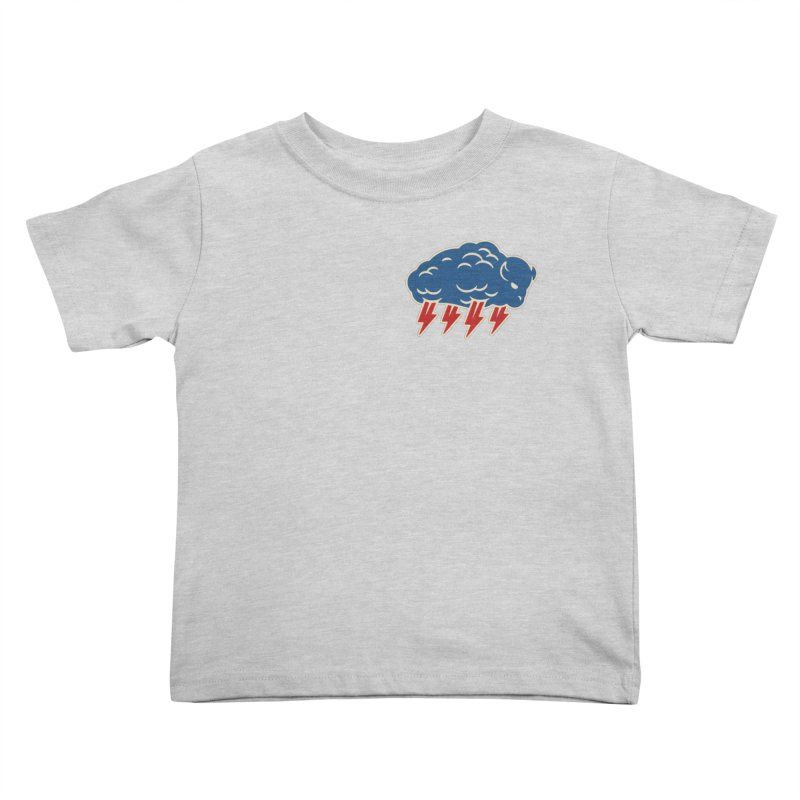 Buffalo Thunder Kids Toddler T-Shirt by Cody Weiler