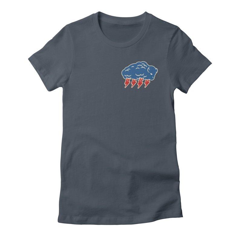 Buffalo Thunder Women's T-Shirt by Cody Weiler