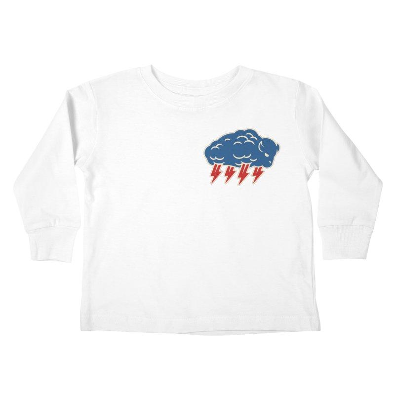 Buffalo Thunder Kids Toddler Longsleeve T-Shirt by Cody Weiler