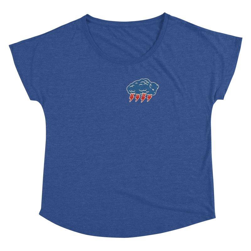 Buffalo Thunder Women's Dolman Scoop Neck by Cody Weiler