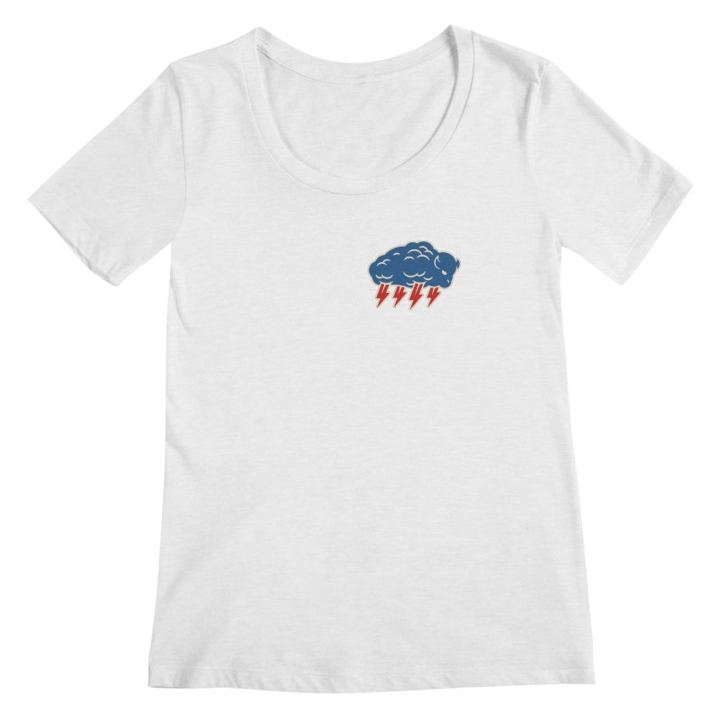 Buffalo Thunder Women's Scoop Neck by Cody Weiler