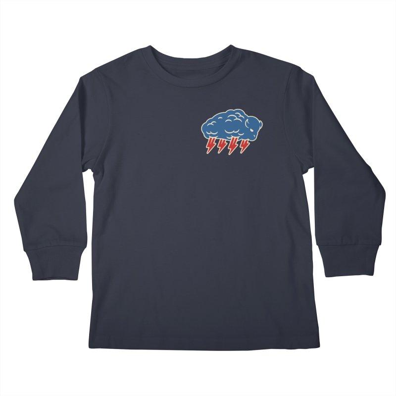 Buffalo Thunder Kids Longsleeve T-Shirt by Cody Weiler