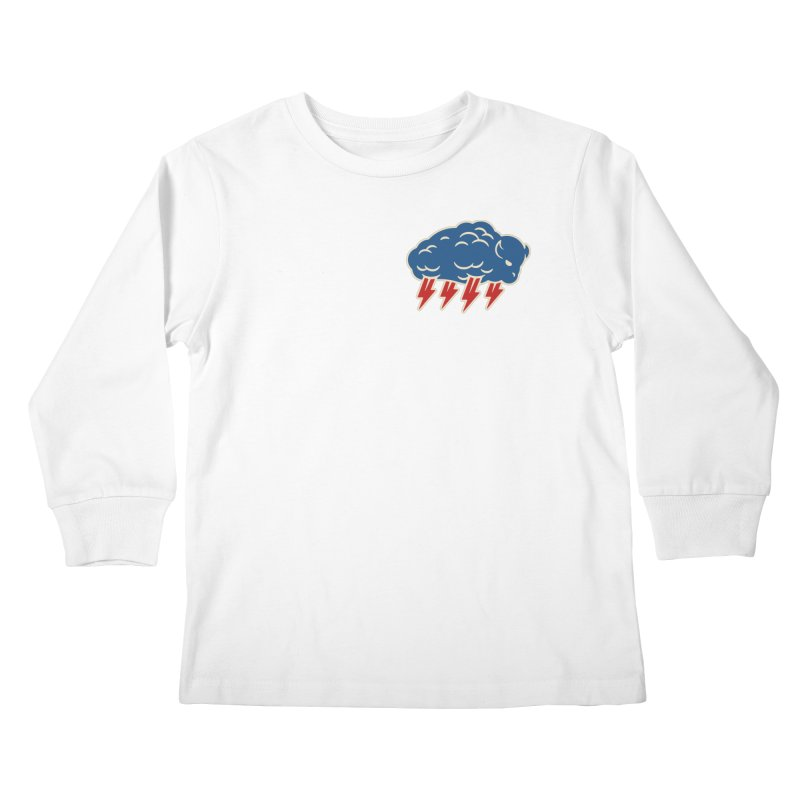 Buffalo Thunder Kids Longsleeve T-Shirt by Cody Weiler