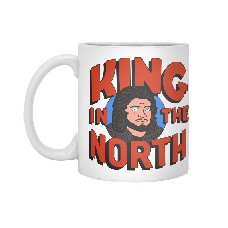 King in the North Accessories Standard Mug by Cody Weiler