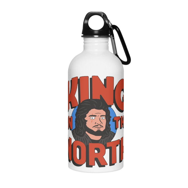 King in the North Accessories Water Bottle by Cody Weiler