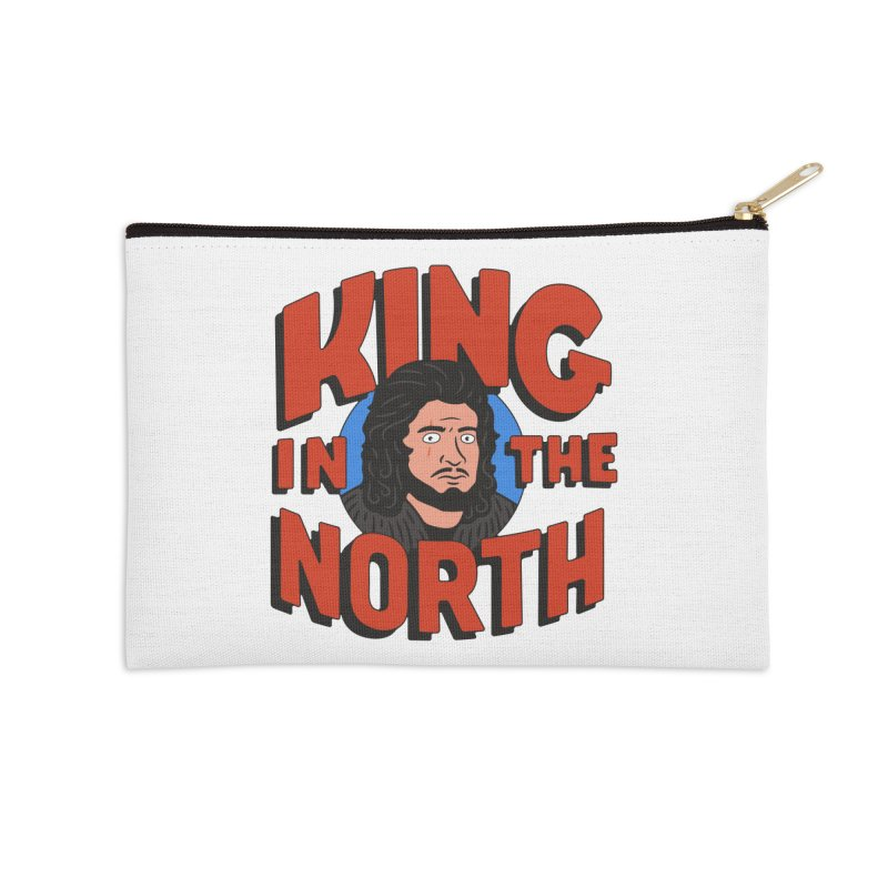 King in the North Accessories Zip Pouch by Cody Weiler